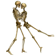 Calaveritas bailando