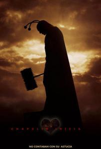 Parodia del poster de Batman inicia con la Imagen del Chapulín Colorado.