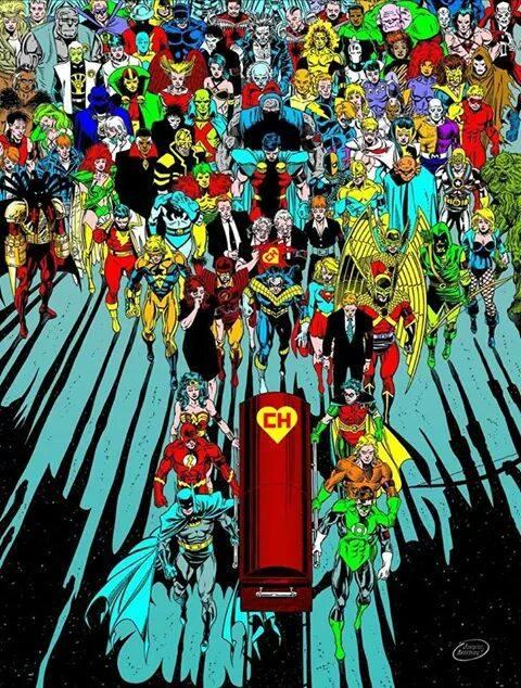 DC Comics México tribute to Chapulin Colorado's death