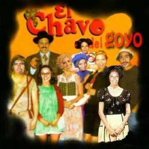"""""""Chavo del Goyo"""" Photoshop by Raul Flores"""
