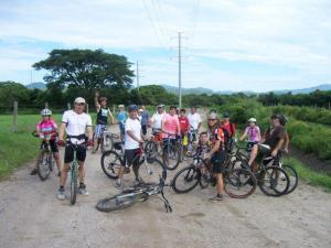 Bike riding with friends on Puerto Vallarta's mountains and valleys.