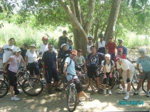 Paseo en Bici con Shanti al Tondoroque