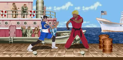 Street Fighter Salsa