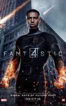 Michael B. Jordan as Johny Storm (The Human Torch)