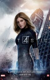 Kate Mara as Sue Storm (The Invisible Woman)