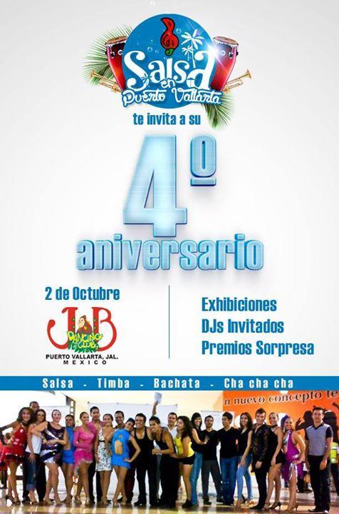 4to Aniversario de Salsa en Puerto Vallarta