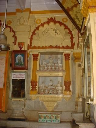 Palitana temple inside