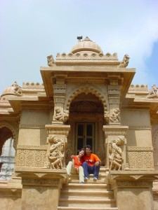 Verginia and Israel in Palitana