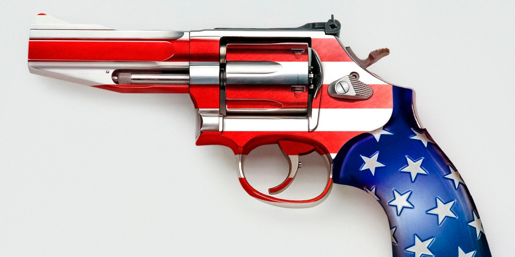 Americans and their love for guns