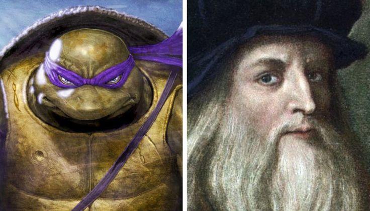 Donatello and Leonardo Da Vinci