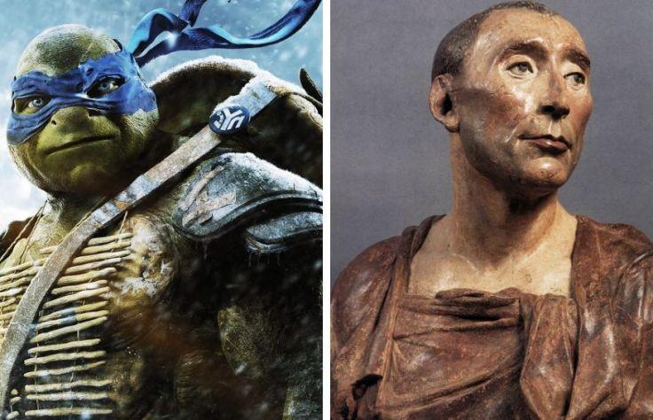 Leonardo and the artist Donatello
