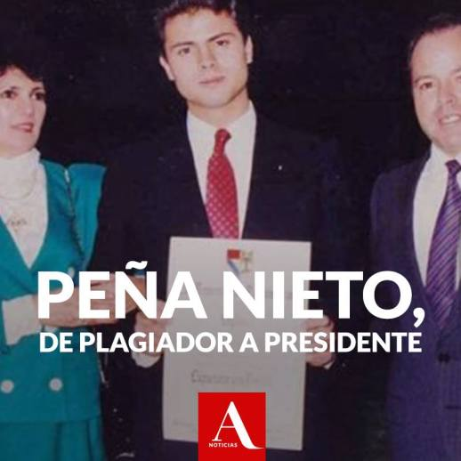 Investigación de Carmen Aristegui sobre la tesis de Peña Nieto