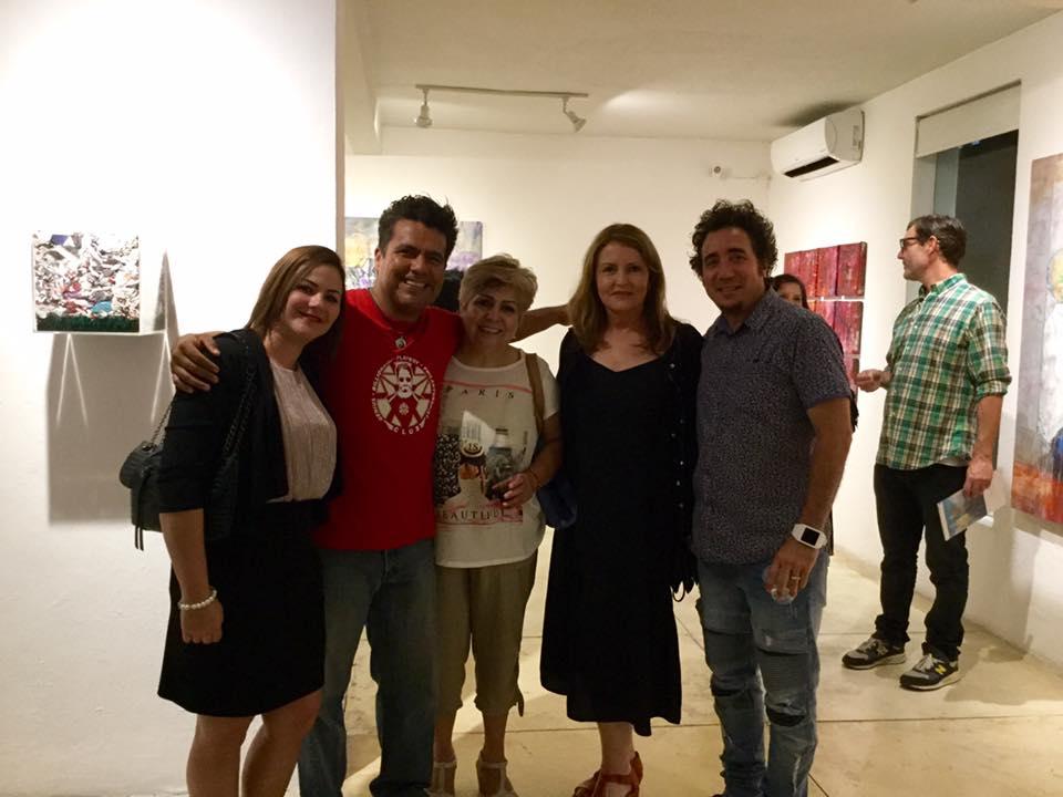 Yaima Sterlich, Israel Andalón, Lety Chumacero, Mary Koruga, Angel Delgado
