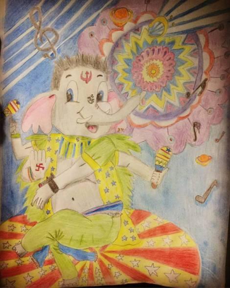 Ganesh Latino Cirquero. Ver en Instagram
