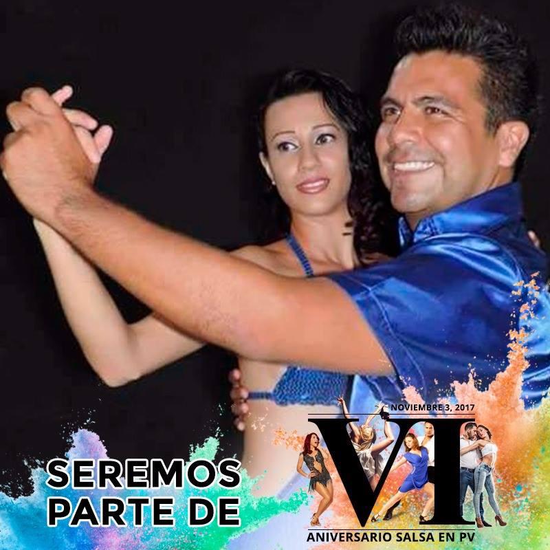 Sujel Espinoza e Israel Andalón. Salsa en Puerto Vallarta