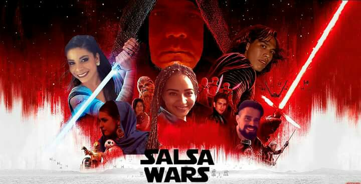 Salsa Wars Collage with my friends