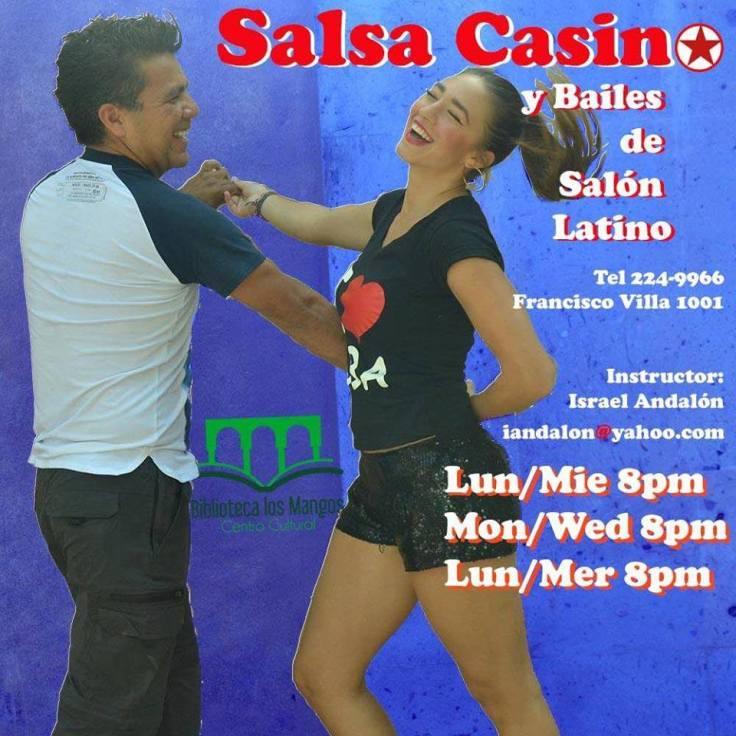Clases de Salsa Cubana en Biblioteca Los Mangos Puerto Vallarta