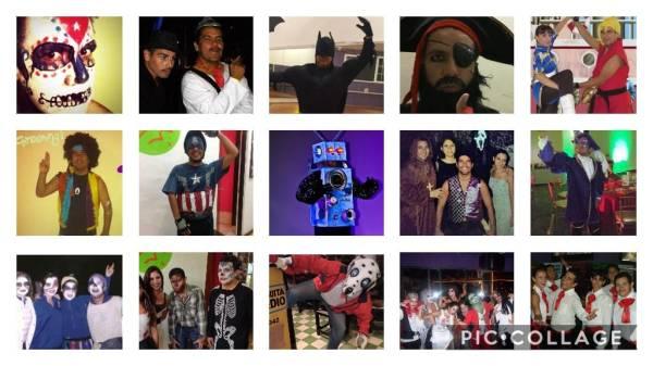 Collage Israel Andalon Halloween