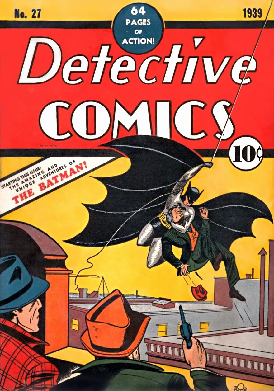 First Batman Comic