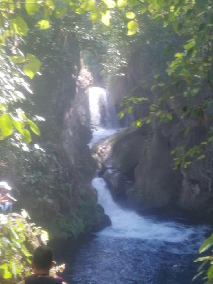 Waterfall at Puente de Dios