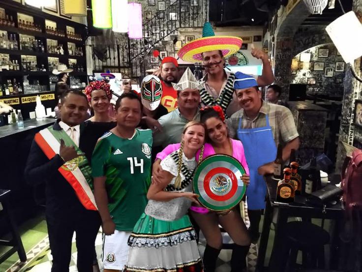 Los Casineros más Mexicanos en La Bodeguita del Medio.